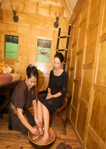 Massage in Thai house