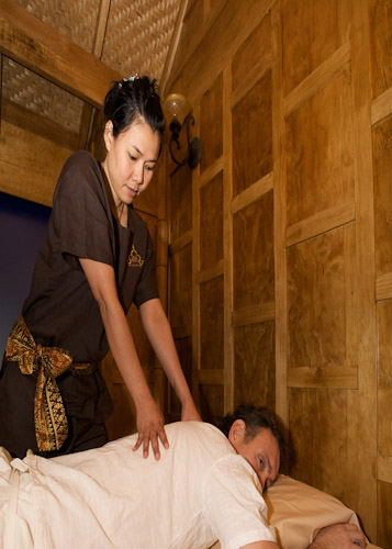 Traditionl Thai massage